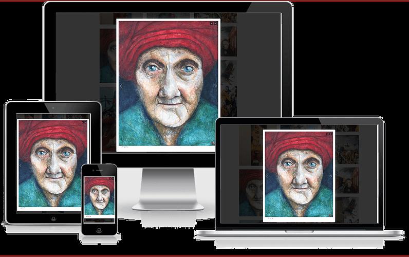 hjemmeside kunstner Pernille Helleskov Pedersen WordPress