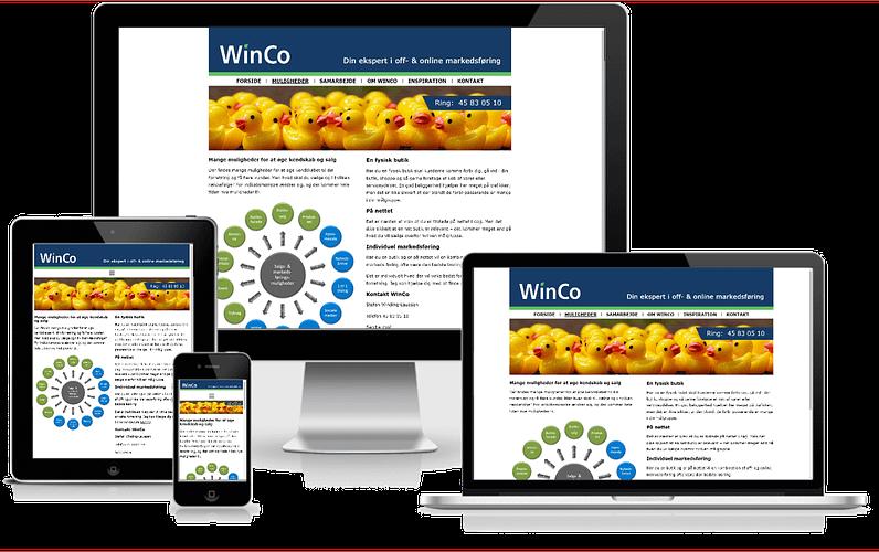 Hjemmeside i WordPress