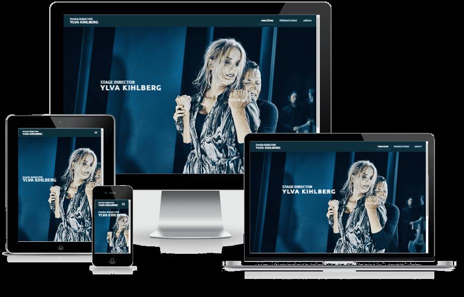 Hjemmeside Til Ylva Kihlberg Design WordPress 08