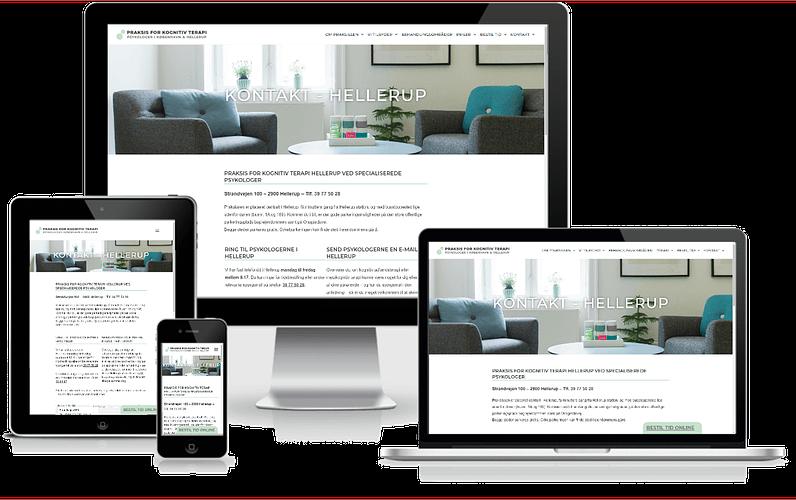 Psykologer i København K & Hellerup - WordPress hjemmeside design