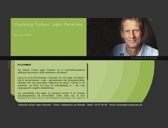 Hjemmeside til Psykolog Torben Jager Petersen