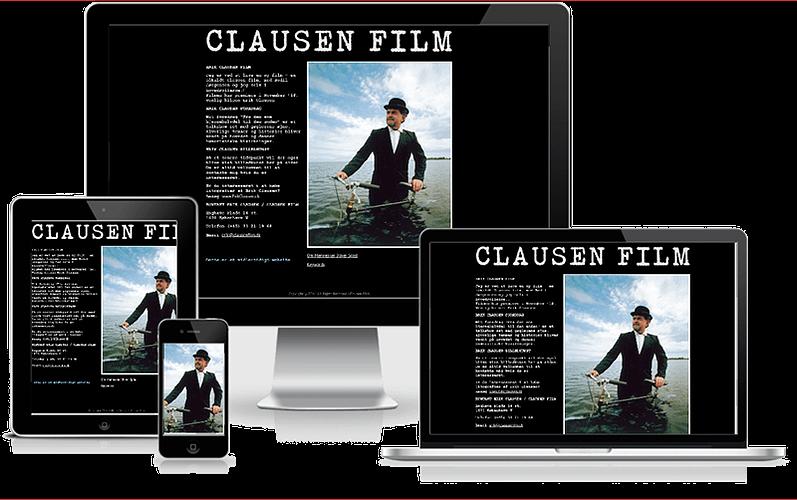 Midlertidig hjemmeside til Erik Clausen - Filminstruktør og billedkunstner