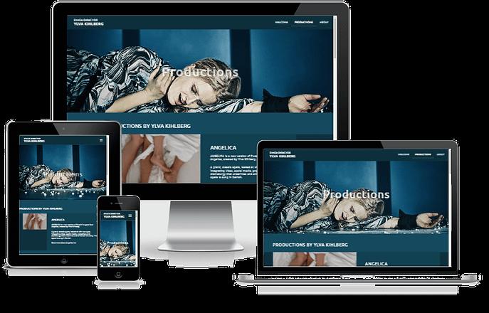 Hjemmeside Til Ylva Kihlberg Design WordPress 06