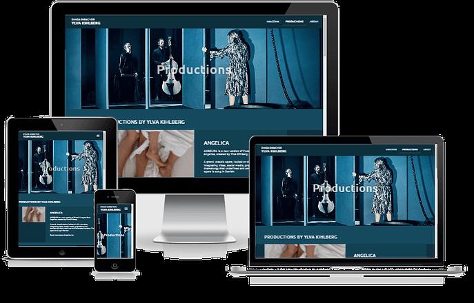 Hjemmeside Til Ylva Kihlberg Design WordPress 05