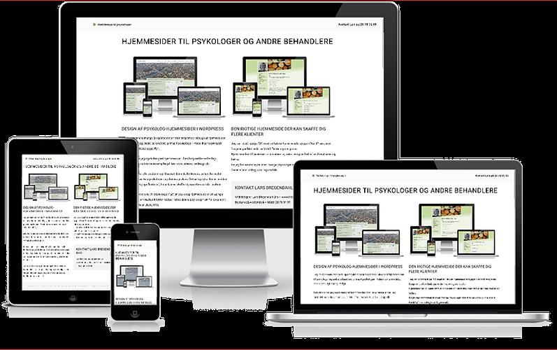 Webdesign til psykologer