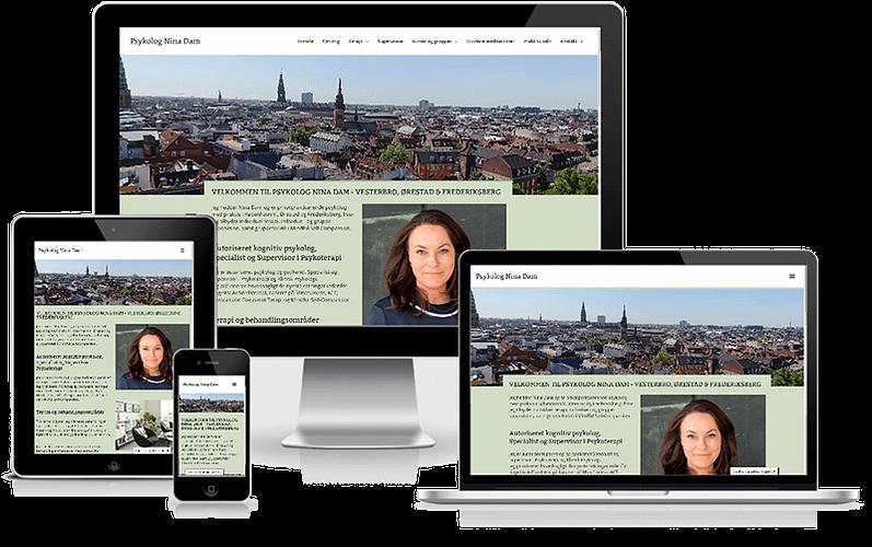 Psykolog Nina Dam - Vesterbro - København - WordPress
