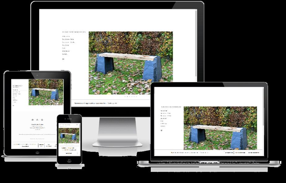 Hjemmeside til Helene Engholm Michlsen WordPress design