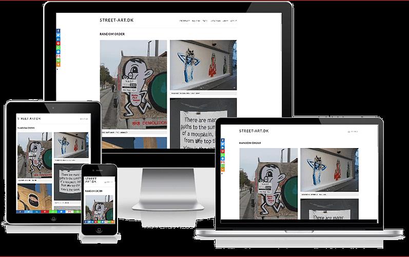 street art blog hjemmeside wordress