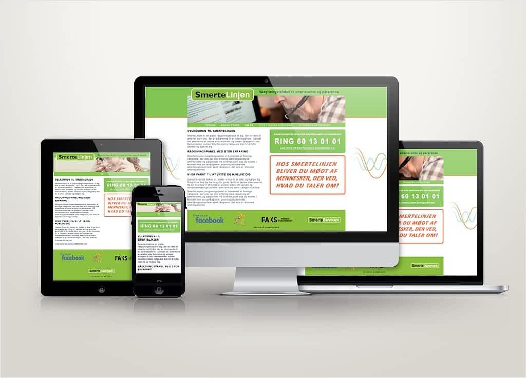 Ny hjemmeside til Foreingen Smertelinjen
