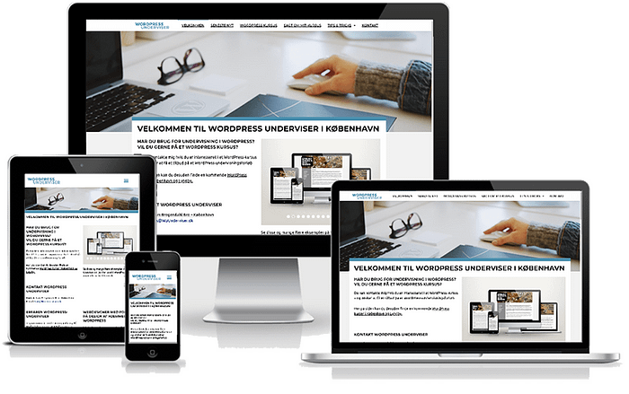 Wordpress underviser i København - www.wpunderviser.dk