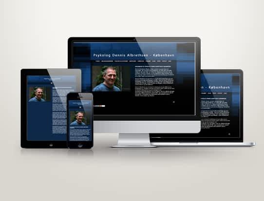 Hjemmeside til Psykolog Dennis Albrethsen