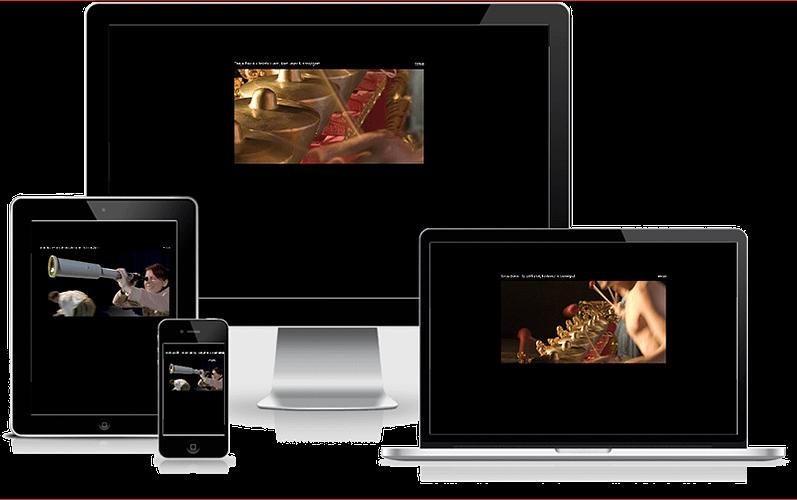 Hjemmeside designet til scenograf og kostumier Tanja Bovin - WordPress